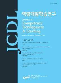 역량개발학습연구 제13권 제3호 차례