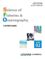 완도항 해역에서 5월과 8월에 출현한 자치어의 종조성